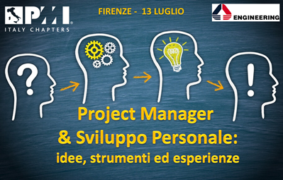 Project Manager and Personal Development: ideas, tools and experiences