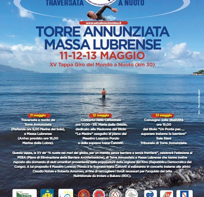 """PRESS RELEASE presentation XV stage of '""""Swimming in the Seas of the Globe"""""""